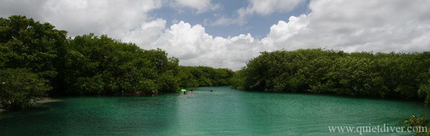 Casa Cenote near Tulum Mexico