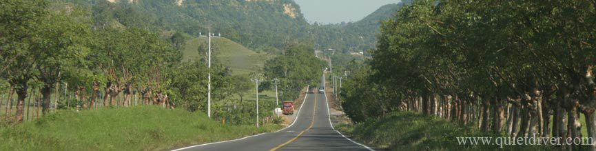 Highway 180 in Veracruz state Mexico