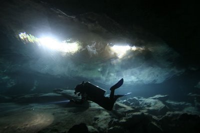 Little Brother Cenote at Chac Mool.